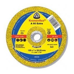 DISCO DE CORTE KRONENFLEX. A 60 EXTRA. 125X1 MM