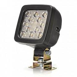FOCO DE TRABAJO LED. 17W. 1750 LUMENS. 12 LEDS.LUZ MARCHA ATRAS